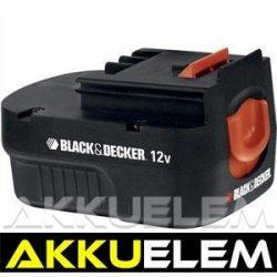 AKKUFELÚJÍTÁS Black & Decker 12V 1.2Ah  (4/5SC)
