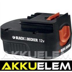 AKKUFELÚJÍTÁS Black & Decker 12V 2.2Ah  (4/5SC)