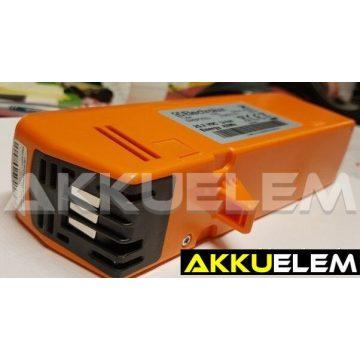 AKKUFELÚJÍTÁS Electrolux 25,2V SIRBP252Li 42Wh, 2,1Ah akkucellából vagy (2,5Ah 21675Ft)