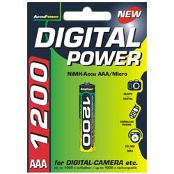 Digital Power 1200mAh AAA akkumulátor