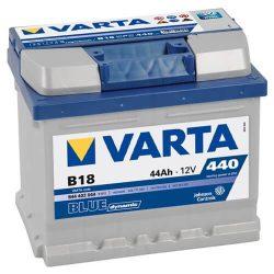 44Ah VARTA Blue Dynamic B18 akkumulátor jobb+ (544 402 044)