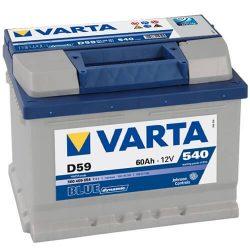 60Ah VARTA Blue Dynamic D59 560409 akkumulátor jobb+