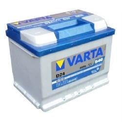 Varta Blue Dynamic 12V 60Ah 540A autó akkumulátor D24 560408 jobb+