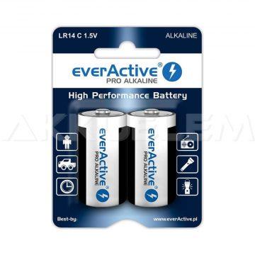 everActive LR14 C baby elem alkáli Bl (ár/darab)