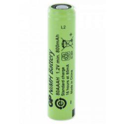 800mAh GP 80AAAH 1,2V akkumulátor cella
