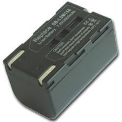 Samsung SB-LSM160 1600mAh utángyártott akku