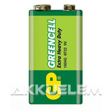 GP Greencell 1604G (9V) féltartós