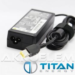 Titan Energy Lenovo 20V 3,25A 65W square CP notebook adapter - utángyártott
