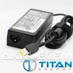 Titan Energy Lenovo 20V 3,25A 65W square CP notebook adapter - utángyártott