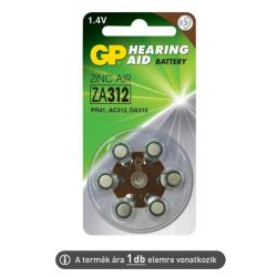 Hallókészülék elem GP ZA312 (ár/db)