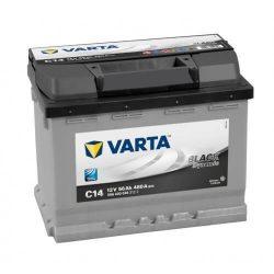 56Ah VARTA Black Dynamic C14 556400 akkumulátor jobb+