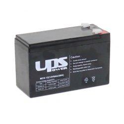 UPS POWER 12V 9Ah zselés akkumulátor (MC9-12)