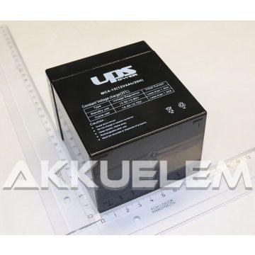 UPS Power 12V 4Ah zselés akkumulátor (MC4-12)