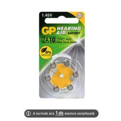 Hallókészülék elem GP ZA10 (ár/db)