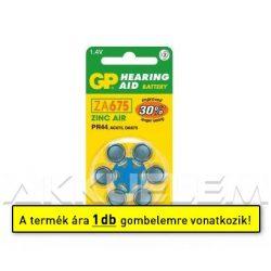 Hallókészülék elem GP ZA675 (ár/db)