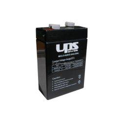 UPS Power 6V 2,8Ah zselés akkumulátor (MC2.8-12)