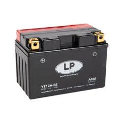 Landport YT12A-BS 12V 11Ah motorkerékpár akkumulátor bal+