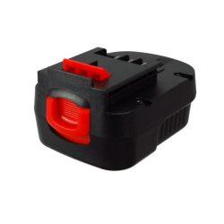 Black & Decker FS120B 12V 2000mAh utángyártott szerszámgép akkumulátor