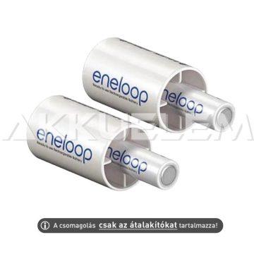Eneloop BQ-BS2E AA -> C átalakító adapter R6->R14 2db ár/bliszter