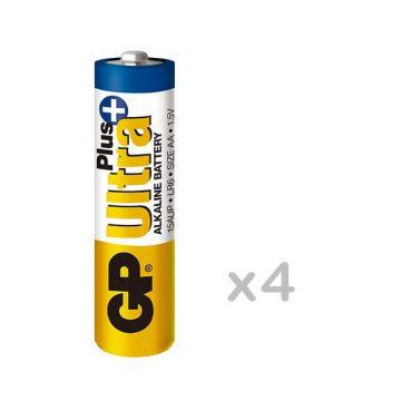 GP Ultra Plus LR6 AA tartós elem 4db/bl  (ár/db) 15AUP