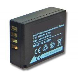 Fuji NP-W126 7,2V 1100mAh digitális fényképezőgép akkumulátor utángyártott
