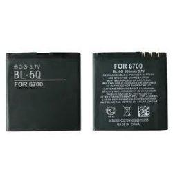 Nokia BL-6Q 700mAh utángyártott akku