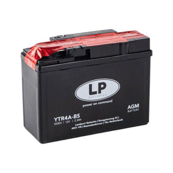 Landport YTR4A-BS 12V 2,3Ah motorkerékpár akkumulátor