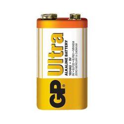 GP 9V Ultra alkáli tartós elem fóliás