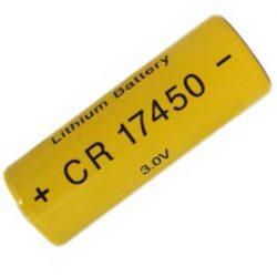 CR17450 lítium elem 3V 2200mAh forrlábbal