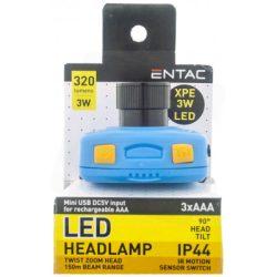 3W 110lm LED fejlámpa P3512 fókuszálható fényű