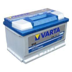 72Ah Varta Blue Dinamic E43 autó akkumulátor jobb+ (572 409 068)