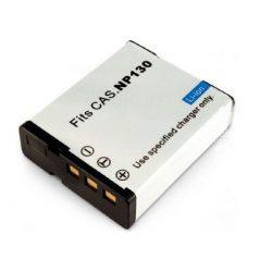 Casio NP-130 1600mAh utángyártott akkumulátor