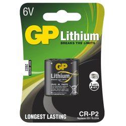 GP CR-P2 6V Lithium elem