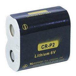 CR-P2 6V 500mAh tölthető fotoakku