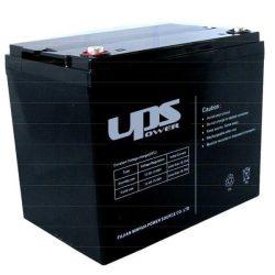 UPS Power  12V 75Ah zselés-akkumulátor (MC75-12)