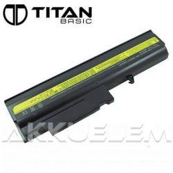 Titan Basic IBM T40 4400mAh notebook akkumulátor - utángyártott