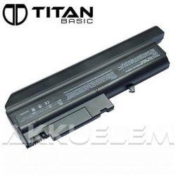 Titan Basic IBM T40 6600mAh notebook akkumulátor - utángyártott