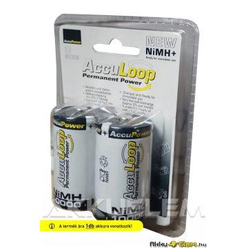 AccuPower AccuLoop 10000mAh D akku NiMh