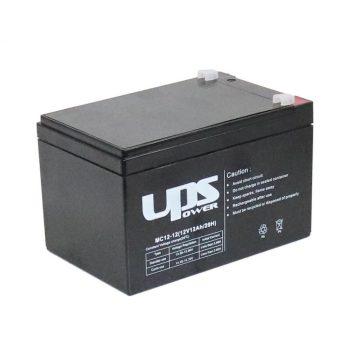 UPS Power 12V 12Ah zselés akkumulátor (MC12-12)