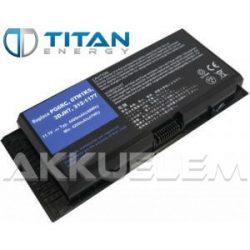 TitanEnergy DELL Precision M4600 7800mAh notebook akkumulátor - utángyártott