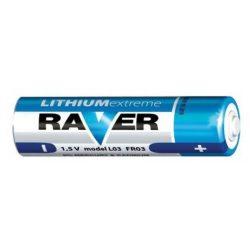 Raver 1,5V AAA FR03 lítium fotóelem