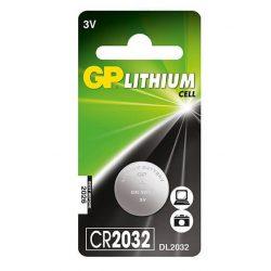 GP CR 2032 3V lítium gombelem