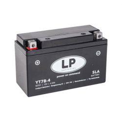 Landport YT7B-4 12V 6Ah motorkerékpár akkumulátor 507901