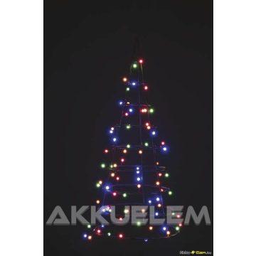 Cherry 80LED 8m 3,6W karácsonyi fényfüzér multikolor, időzítős, kültéri + beltéri