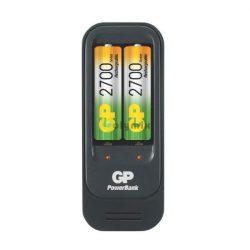 GP PowerBank akkutöltő PB560 2db GP 2700mAh AA akkumulátorral