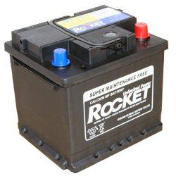Rocket 12V 44Ah 330A autó akkumulátor  54459 JOBB+