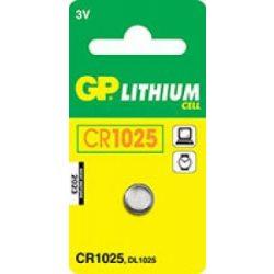 GP CR 1025 3V lítium gombelem