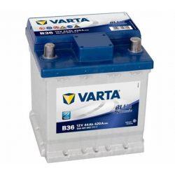 44Ah Varta Blue Dynamic B36 12V autó akkumulátor jobb+ (544 401 042)