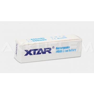 XTAR 14500 AA 800mAh Li-Ion akkumulátor (PCB)