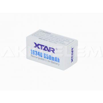 XTAR 16340 650mAh Li-Ion akkumulátor
